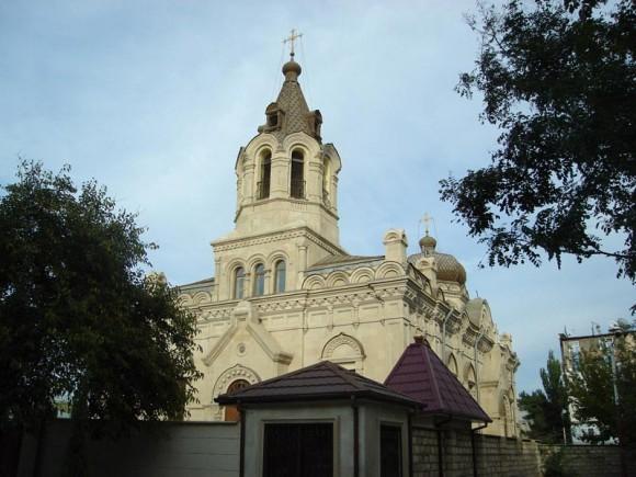"Храм святых Жен-Мироносиц в Баку, фото: ""Вестник Кавказа"""