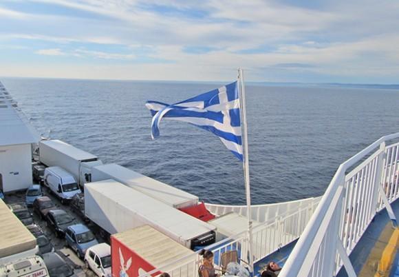 В Италию под греческим флагом