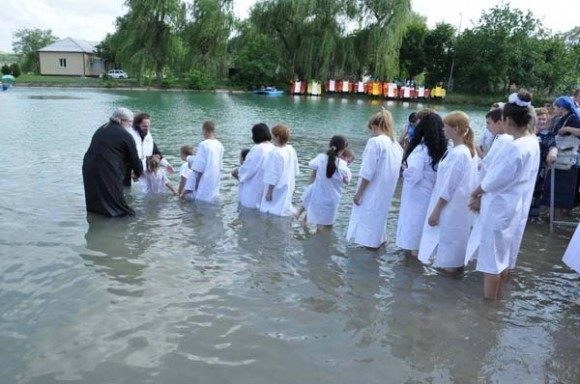 Массовое крещение