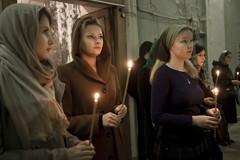 Панихида об упокоении жертв красного террора в РПУ (Фоторепортаж)