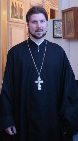 Священник Глеб Грозовский. Фото: социальные сети