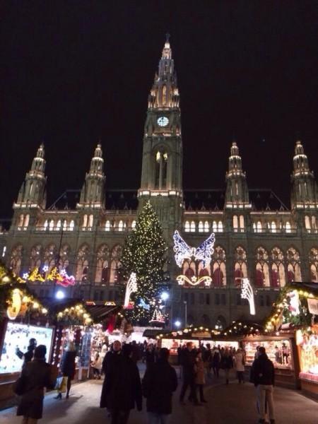 Вена тоже готова к встрече Рождества! Фото: Елизавета Кулик