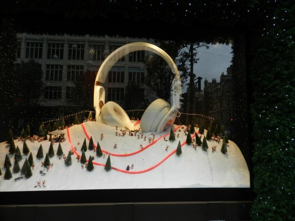 Лондон. С ноября всё пропитано атмосферой Рождества. Фото: Надежда Кабанова