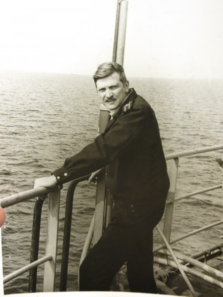 Командир корабля. Северное море. 1983 г.