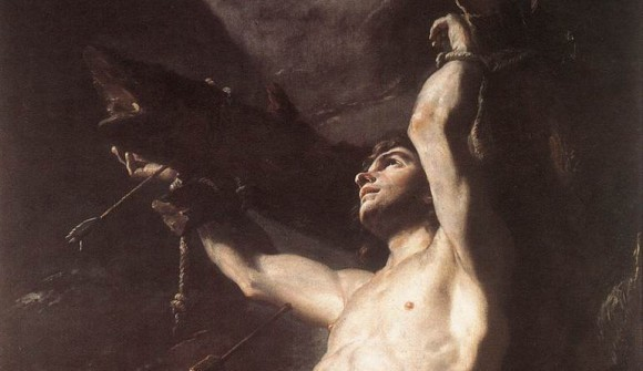 Мученик Севастиан и засохшее дерево