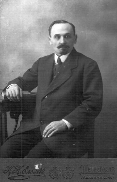 Степан Никитич Пименов, управляющий дворца на Английской набережной в СПб