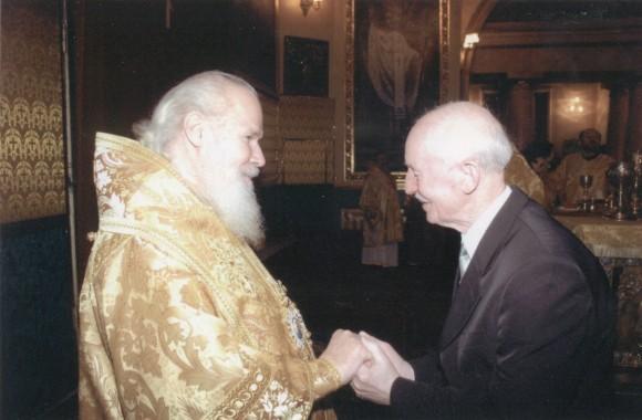 19 декабря 2004 года. Благословение Святейшего Патриарха Алексия II в Богоявленском Елоховском кафедральном соборе