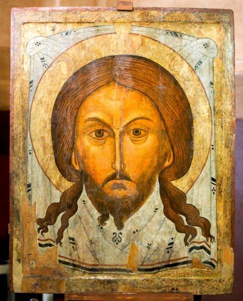 Икона Спас Нерукотворный, конец 17 века