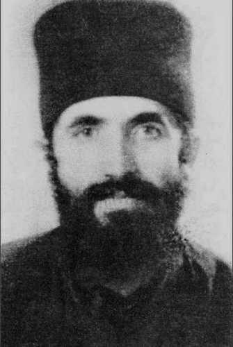 Молодой монах Паисий.