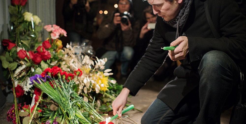 В память о погибших в Волгограде