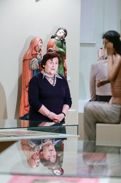 Нина Казаринова, заместитель директора галереи по науке