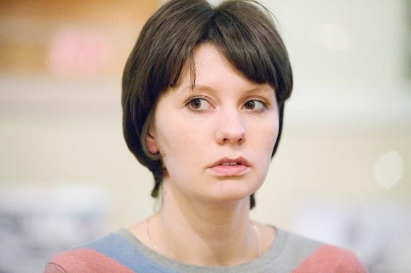 Евгения Шабурова, хранитель коллекции пермской деревянной скульптуры