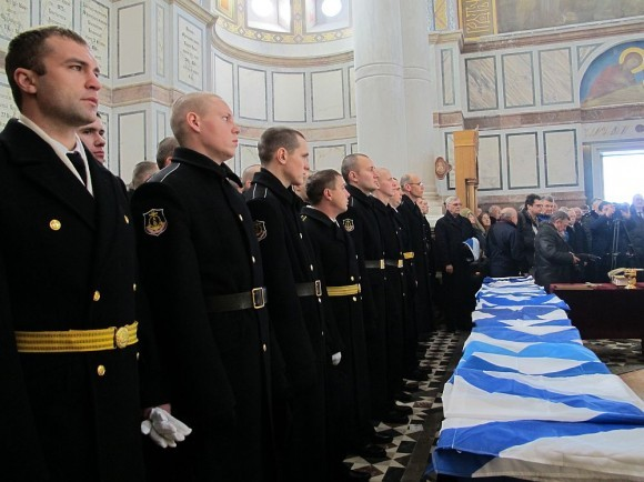 Владимирский собор — усыпальница адмиралов