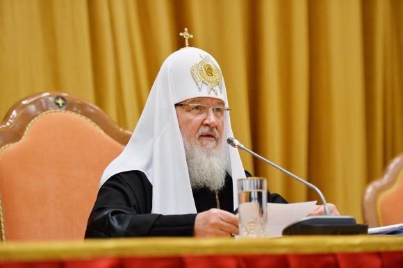 Доклад Патриарха Кирилла на епархиальном собрании Москвы