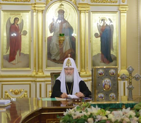 Патриарх Кирилл: Преподобный Сергий не оставит духовных чад своих и ныне