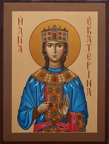 Святая великомученица Екатерина. Икона 2