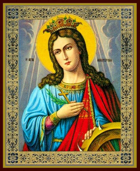 Святая великомученица Екатерина. Икона 3