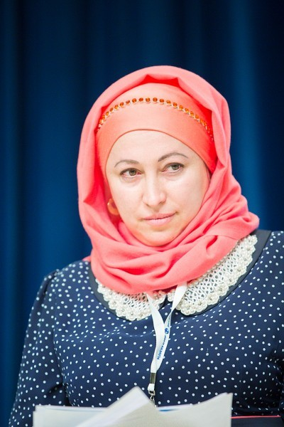 Наиля Зиганшина, председатель общественной организации «Союз Мусульманок России»