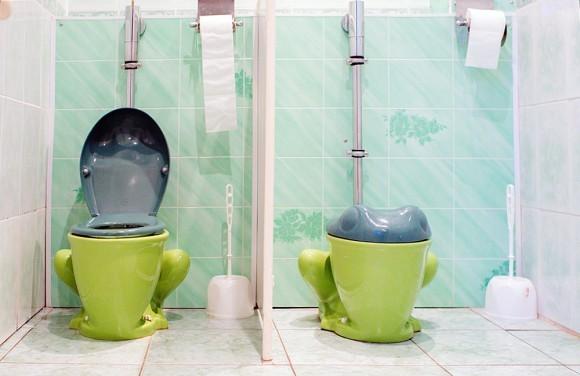 Культурный человек начинается с туалета