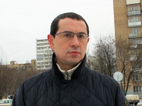Глава управы Останкинского района Иван Синельников