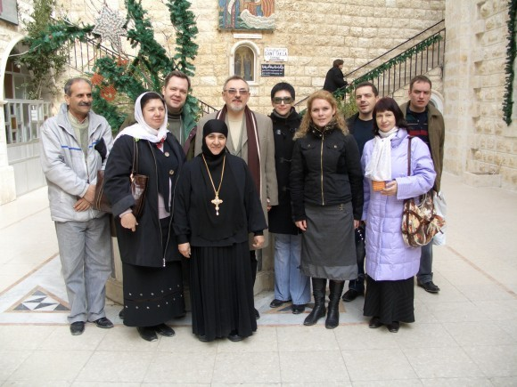 Паломники в Маалюле