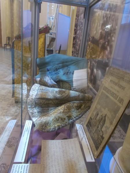 Епитрахиль, изъятая из петроградского храма и переданная для использования в театральных постановках