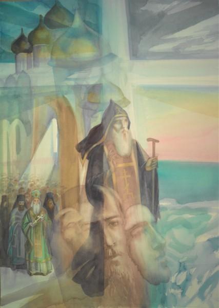 Рисунок владыки Иннокентия