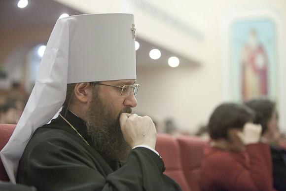 Митрополит Бориспольский и Броварский Антоний, ректор Киевской духовной академии
