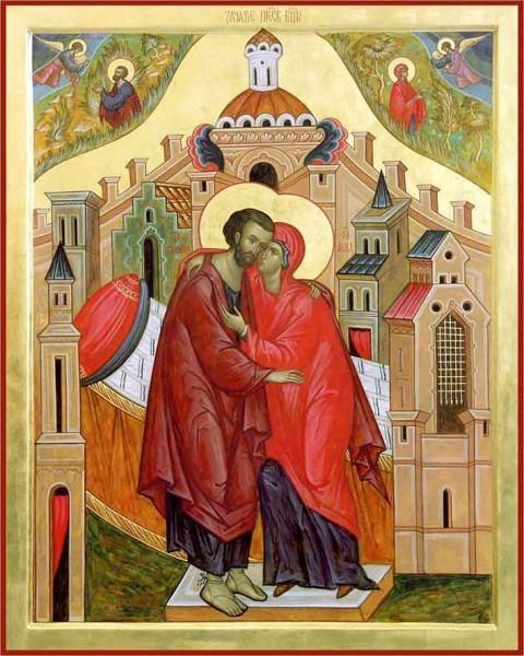 Церковь празднует Зачатие праведною Анною Пресвятой Богородицы