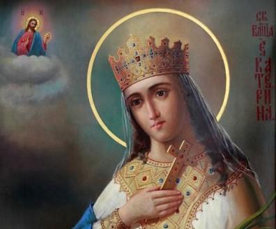 Святая великомученица Екатерина: житие, почитание, иконы, молитвы (+Видео)
