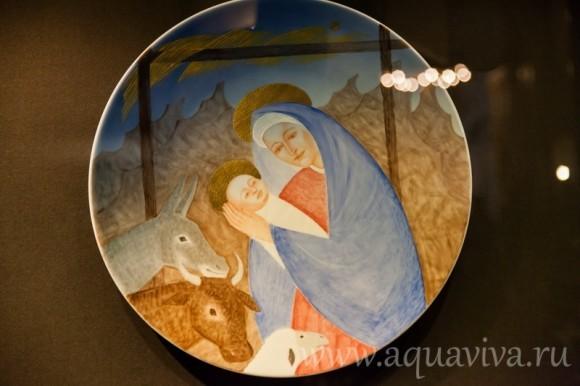 Эрмитаж подготовил к зимним праздникам выставку «Рождественская картинка»