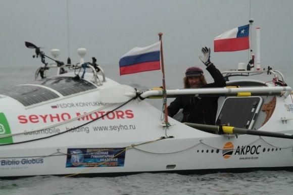 Федор Конюхов преодолел 1700 миль в направлении Австралии