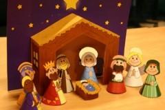 7 вертепов своими руками и другие рождественские поделки