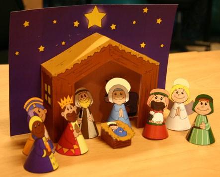 Рождественские поделки: 7 вертепов своими руками