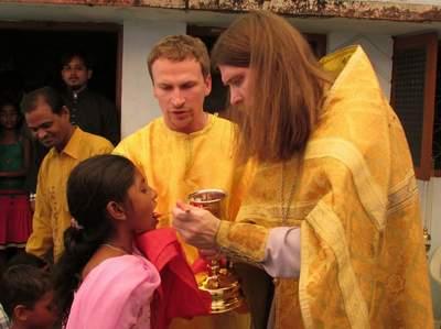 Священник Петрозаводской епархии создает православный приход в Индии