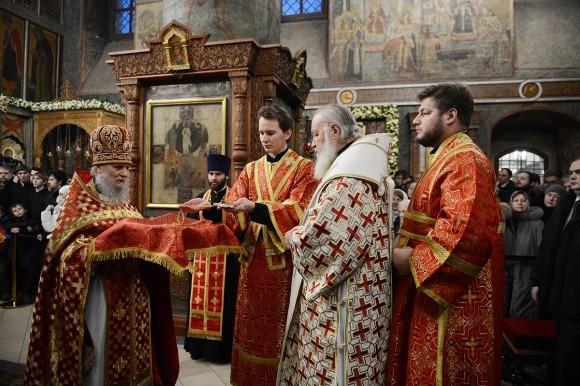 Патриарх Кирилл: 20-летие возрождения древней московской обители – замечательный юбилей