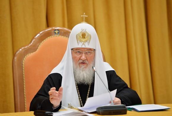 Патриарх Кирилл обсудил ситуацию в Украине с Александром Турчиновым