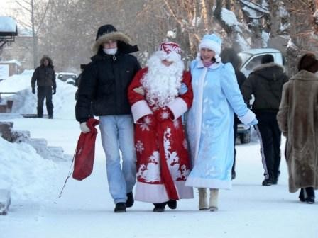 Тесты на профпригодность для Деда Мороза