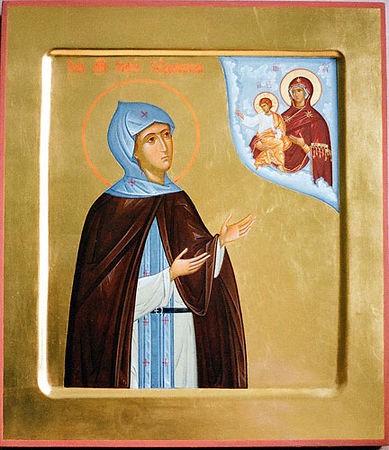 Церковь празднует память преподобной Софии Суздальской