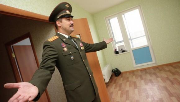 Военным Санкт-Петербурга выделили 6.5 тысяч квартир