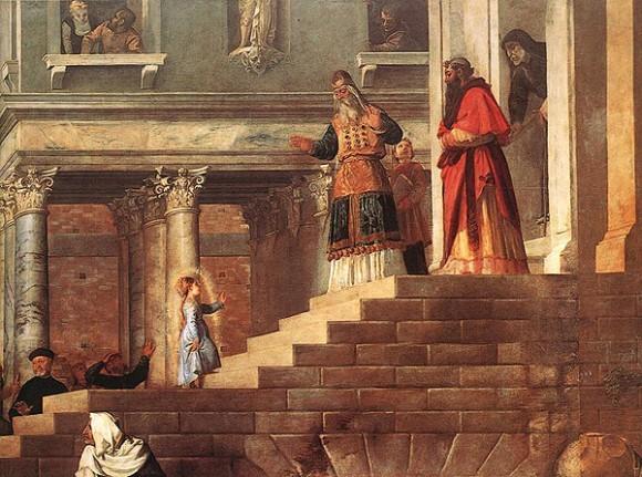 Введение во храм. Тициан