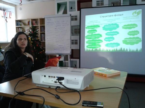 Олеся Деснянская, психолог, сотрудник фонда Волонтёры в помощь детям-сиротам