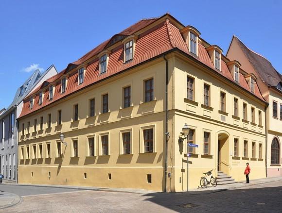 Дом в Галле, где родился Гендель