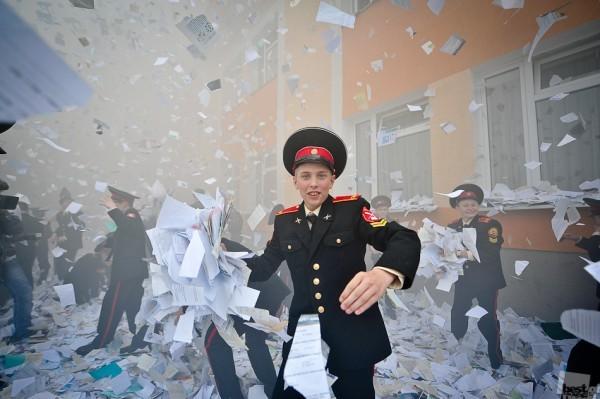 Александр Казаков. Последний звонок