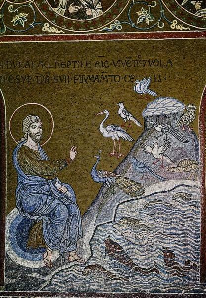 Мозаика из собора Мадонны Ассунта. Италия. XII в