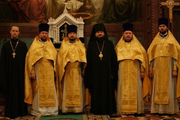 На хиротонии епископа Якутского и Ленского Романа