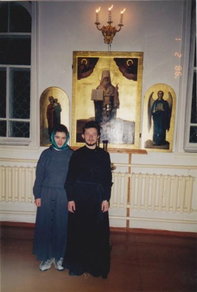 Диакон Владимир Севрюков. Никольский храм в Якутске