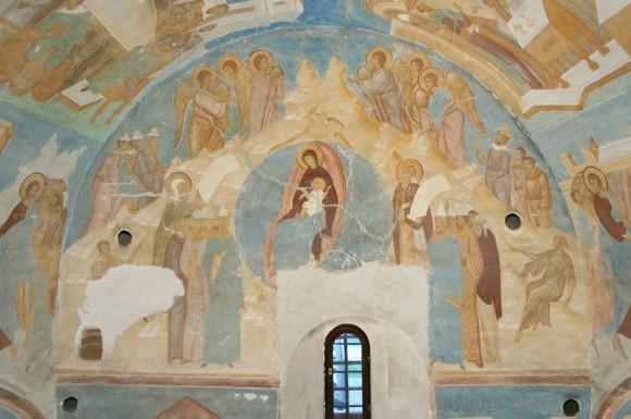 Дионисий. Роспись собора Рождества Богородицы Ферапонтова монастыря. 1502 г.