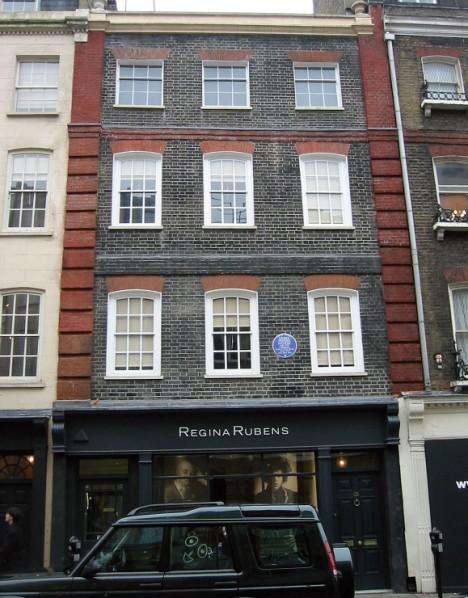 Дом Генделя на Брук-стрит