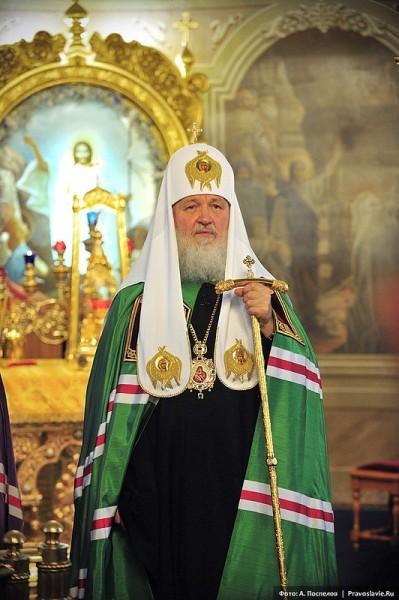Патриарх Кирилл пожелал митрополиту Онуфрию помощи Божией в трудный для Церкви период